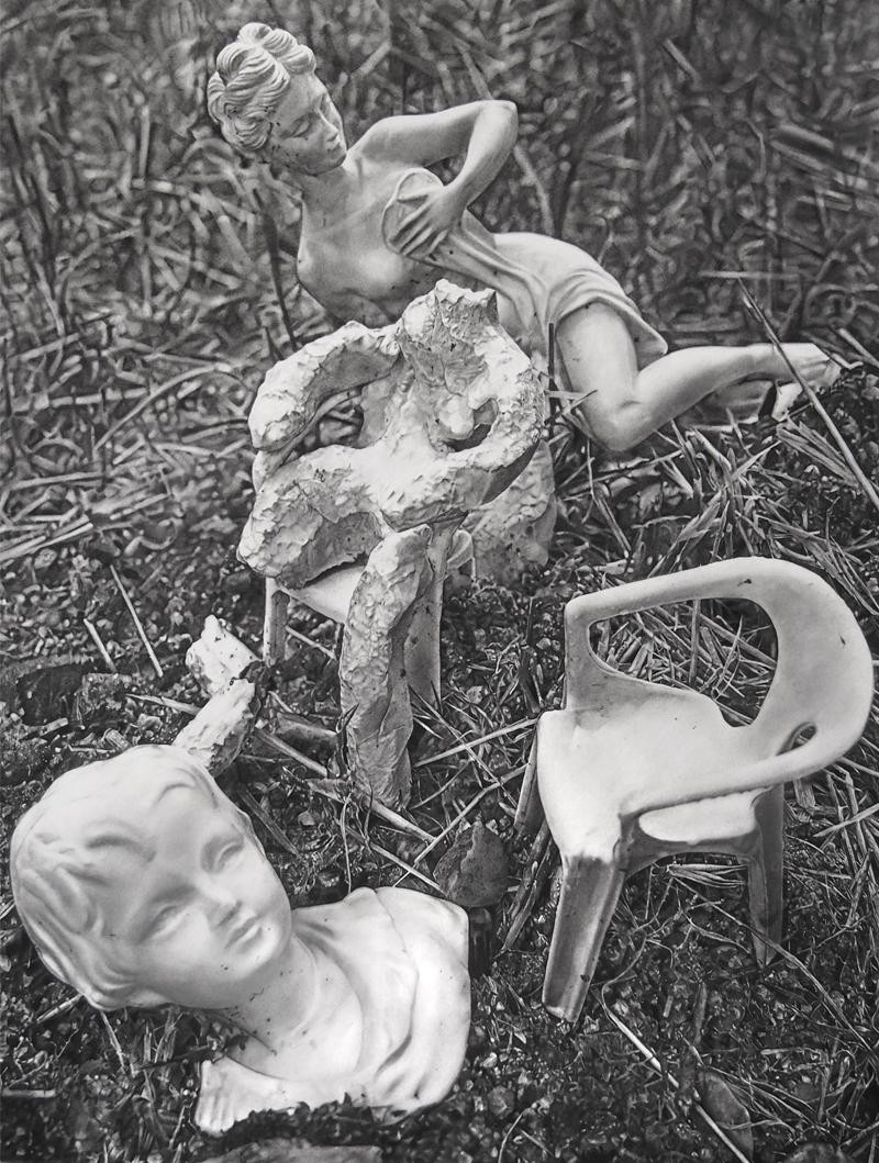 Sculpture Homme Triste